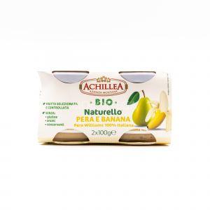Naturello di Pera e Banana Achillea 2x100G