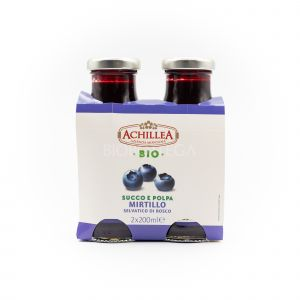 Succo e Polpa di Mirtillo Achillea 400 ML