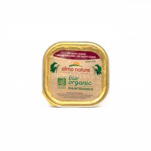 Patè BIO con Manzo e Verdure per Cani almo nature 100G