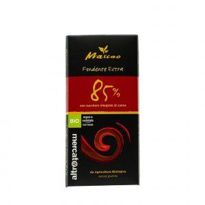 Cioccolato Mascao Fondente Extra 85% altromercato 100 G