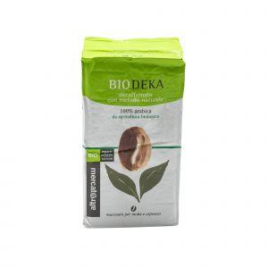 Caffe` 100% Arabica Decaffeinato Macinato altromercato 250 G