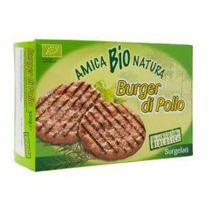 Burger di Pollo Amica Bio 320 G