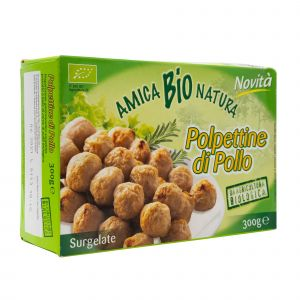 Polpettine di Pollo Amica Bio 300 G