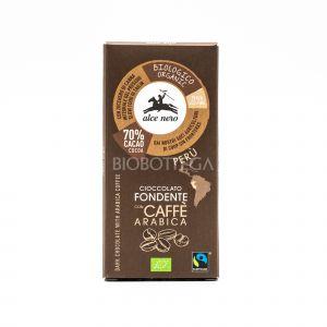 Cioccolato Fondente con Caffè Arabica Alce Nero 50G