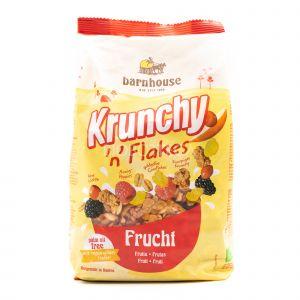 Krunchy n'Flakes alla Frutta Barnhouse 375G