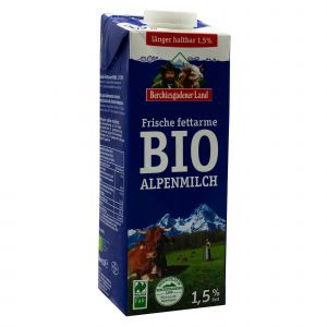 Latte Parzialmente Scremato Più a Lungo Berchtesgadener Land 1000 ML