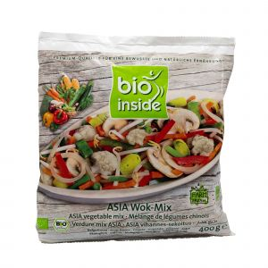 "Verdure Mix ""Asia"" Surgelate per Wok Bio Inside 400 G"