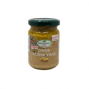 Crema di Olive Verdi Biorganica Nuova 140 G