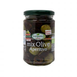 Mix Olive Aperitivo Con Olio Extravergine di Oliva Biorganica Nuova 280 G
