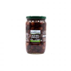 Olive Nere Denocciolate Bio Organica Italia 680G