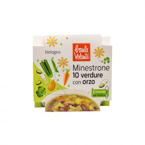 Minestrone 10 Verdure con Orzo Baule Volante 340 G