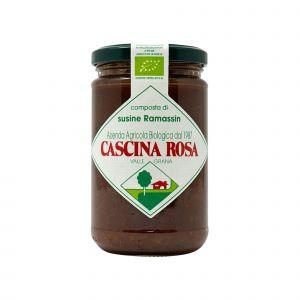 Composta di Susine Ramassin senza zuccheri aggiunti Cascina Rosa 300 G