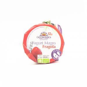 Yogurt Magro alla Fragola Cascina Bianca 500G