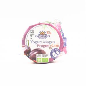 Yogurt Magro Prugne e Goji Cascina Bianca 500G