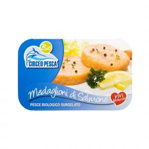 Medaglioni di Salmone Circeo Pesca 200 G
