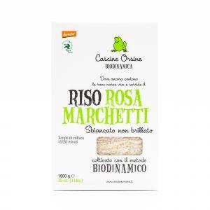 Riso Rosa Marchetti Sbiancato non Brillato Cascine Orsine 1KG