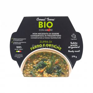 Zuppa di Farro e Ortiche Cereal Terra 270G
