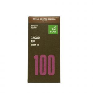 Cacao 100% Ecor 80 G
