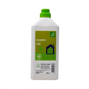 Detersivo Liquido per Pavimenti con Olio Essenziale di Pino Ecor 1000 ML