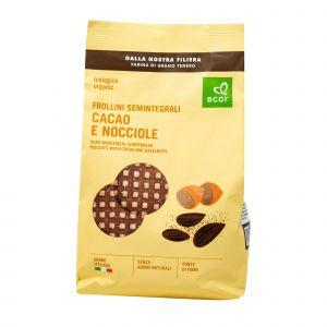 Frollini Semintegrali Cacao E Nocciole Ecor 350 G