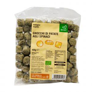 Gnocchi di Patate agli Spinaci Ecor 400 G