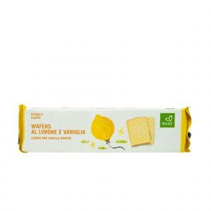 Wafers al Limone E Vaniglia Ecor 125 G