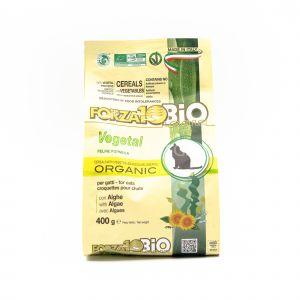 Crocchette BIO Vegetali con Alghe per Gatti Forza10 400G