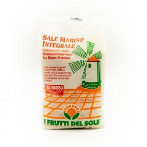 Sale Marino Integrale Grosso I Frutti del Sole 1 KG