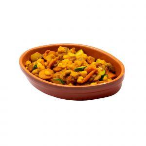 Padellata di Legumi e Verdure Speziate 150 G
