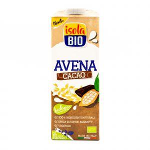 Bevanda di Avena con Cacao Isola Bio 1L