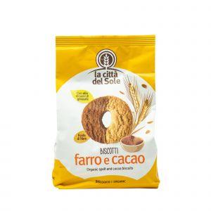 Biscotti Farro E Cacao La Città Del Sole 300 G