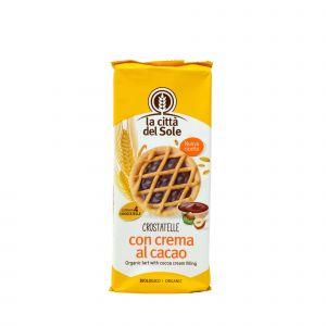 Crostatelle al Cacao La Città Del Sole 180 G