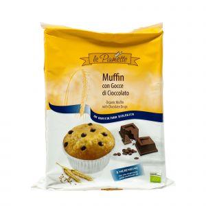 Muffin Con Gocce di Cioccolato Le Piumette 252 G