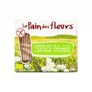 Tartine Tostate al 100% Grano Saraceno Le Pain des Fleurs 150G