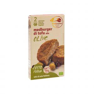 Medburger di Tofu alle Olive Mediterranea 180 G