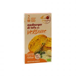 Medburger di Tofu alle Verdure Mediterranea 180 G