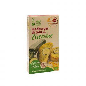 Medburger di Tofu alle Zucchine Mediterranea 180 G