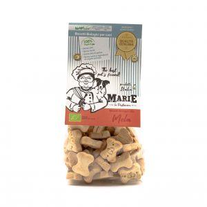 Biscotti BIO per Cani alla Mela Marie La Pasticcera 210G