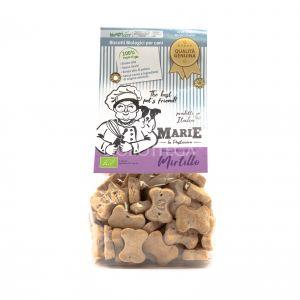 Biscotti BIO per Cani al Mirtillo Marie La Pasticcera 210G