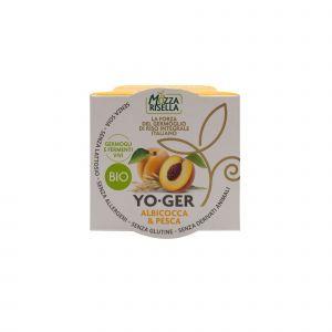 Dessert di Riso Integrale Germogliato alla Pesca e Albicocca YO-GER MozzaRisella 125 G