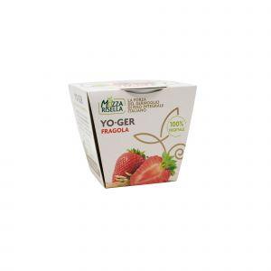 Dessert di Riso Integrale Germogliato alla Fragola YO-GER MozzaRisella 125 G