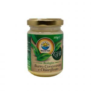 Ghi - Burro Concentrato e Chiarificato Natural Food 100 G