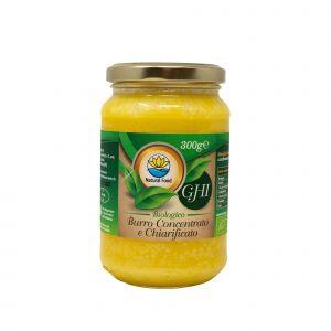 Ghi - Burro Concentrato e Chiarificato di Natural Food 300 G