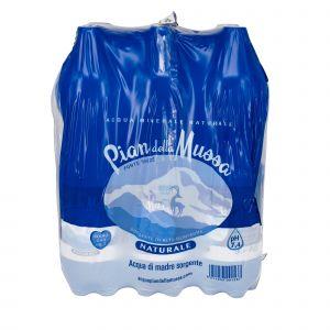 Fardello 6 Bottiglie 1.5L Acqua Pian della Mussa Naturale 9000 ML