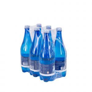Fardello 6 Bottiglie 1L Acqua Pian della Mussa Frizzante 6000 ML