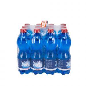 Fardello 12 Bottiglie 500ML Acqua Pian della Mussa Frizzante 6000 ML