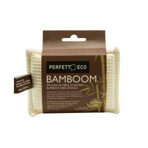 2 Spugne in Fibra di Bambù Perfetto Eco