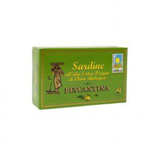 Sardine In Olio Extravergine di Oliva Pescantina 120 G