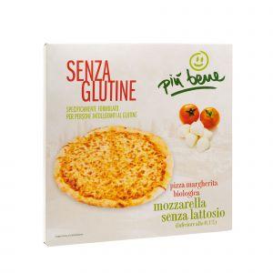 Pizza Senza Glutine, Senza Lievito e con Mozzarella Senza Lattosio Più Bene 330 G