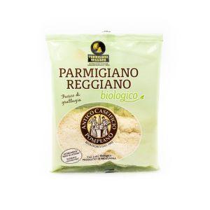 Parmigiano Reggiano DOP Grattugiato, Con Latte Prodotto di Montagna Antico Caseificio Pompeano 60 G